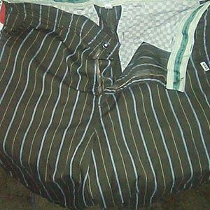 Vans flat front shorts